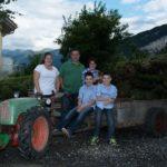 Familie Steiner auf dem Rapid